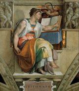 Michelangelo, Erithraean Sibyl, c. 1510, Vatican City, Sistine Chapel