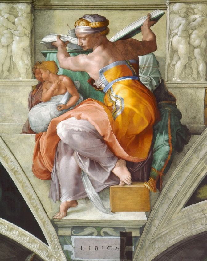 UNADORNED AND UNPERFUMED:: Michelangelo's Sibyls
