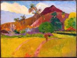 Paul Gauguin (Attrib.), Tahitian Landscape, 1891, Minneapolis Institute of Fine Arts.