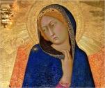 Simone Martini, Virgin Mary, Annunciation, 1333, Florence, Uffiizi.