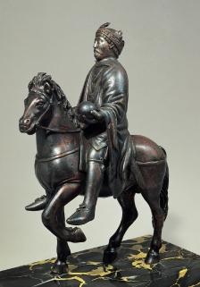 Equestrrian Statue of Charlemagne, c. 800, {Paris, Louve)