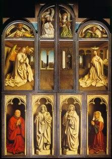 Jan van Eyck, Ghent Altarpiece, 1431, Ghent, St Bavo