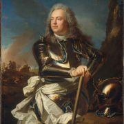 Hyacinthe Rigaud, Henri-Louis de la Tour d'Auvergne, Comte d'Évreux, Maréchal de France, 1739, New York Metropolitan Museum of Art.