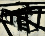Franz Kline, Mahoning, 1956, New York, Whitney Museum of American Art