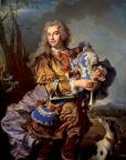 yacinthe Rigaud, Gaspard de Gueidan en joueur de musette, 1738, Aix-en-Provence, Musée Granet.