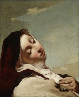 Giovanni Battista Piazzetta - Saint Theresa in Ecstasy