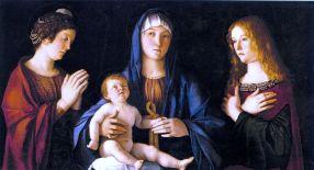 Giovanni Bellini, Sacra Conversazione, 1515, Venice, Accademia