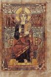 Christ in Majecty, Godescalc Gospels, 768, Paris, Bibliothèque Nationale Ms. Lat. 1203.