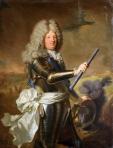 Hyacinthe Rigaud, Louis de France, Le Grand Dauphin, 1688, Versailles, Château