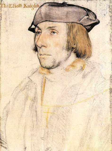 Hans Holbein Sir Thomas Elyot