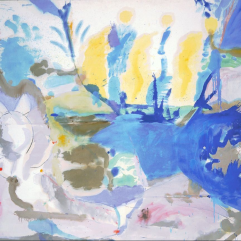 Helen Frankenthaler, Basque Beach, 1957, Washington DC, National Gallery of Art