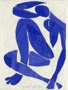 Nu bleu IV, 1952, Nice, Musée Henri Matisse