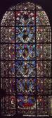 Tree of Jesse Window, c. 1140, Saint-Denis