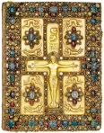 Lindau Gospels, c. 850, New York, Pierpont Morgan Library.