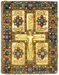 Lindau Gospels, c. 850, New York, Pierpont Morgan Library.