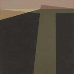 Helen Lundeberg, Landscape, 1962