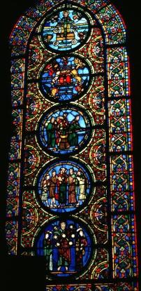 Typological Window, c. 1140, Saint-Denis