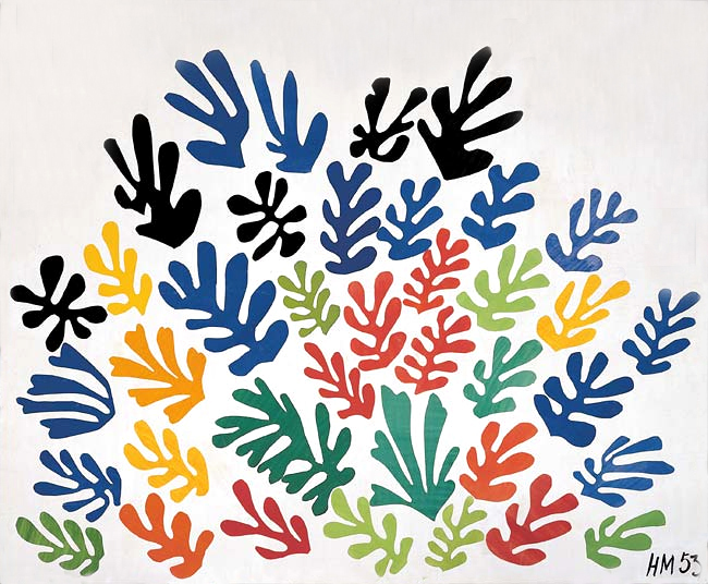 The INVASION OF COLOR: MATISSE'S CUT-OUTS