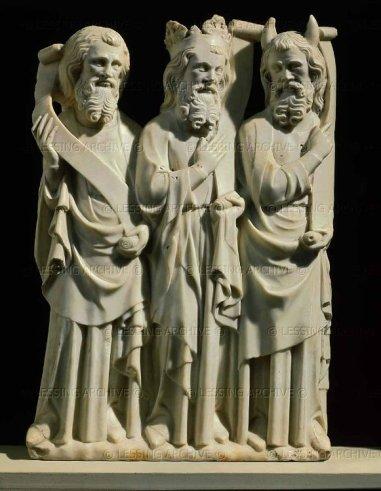 Old Testament Prophets, c. 1320, Paris, Louvre