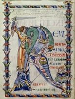 Moralia in Job, 1111, Dijon, Bibliothèque Municipale Mss. 169-173.