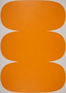 Ellsworth Kelly, Orange White, 1963, Worcester, Worcester Art Museum