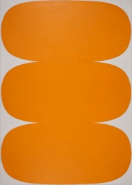 Ellsworth Kelly, Orange White, 1963, Worcester, Worcester Art Museum