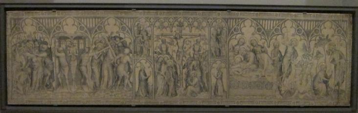 Parement de Narbonne, c. 1375, Paris, Louvre