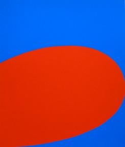 Ellsworth Kelly, Red Blue, 1964, Hartford, Wadsworth Atheneum