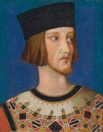 Workshop of Simone Martini, Robert II of Anjou, King of Naples