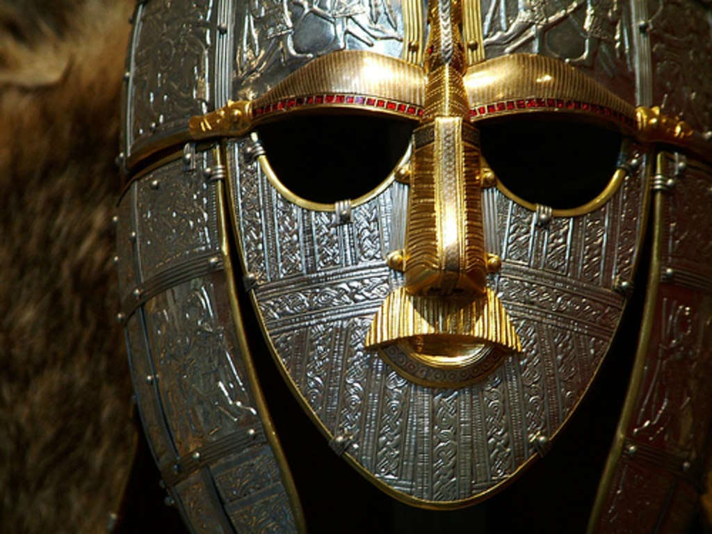 Sutton hoo helmet the higher inqui tude for The sutton