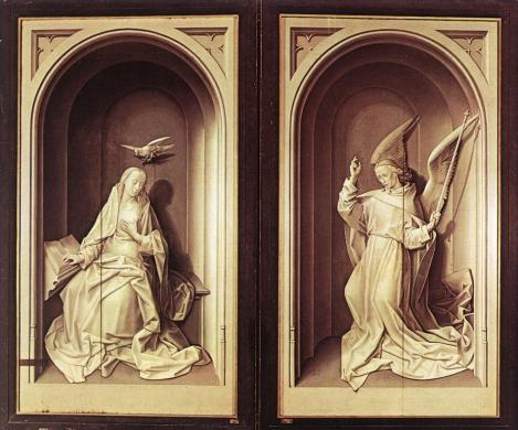 Hugo van der Goes, Portinari Altarpiece, 1475, Florence, Uffizi,