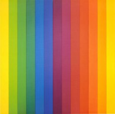 Ellsworth Kelly, Spectrum IV, 1967, New York, Museum of Modern Art