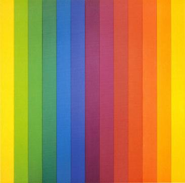 Ellsworth Kelly, Spectrum IV, 1967, New York, Museum of Modern Art