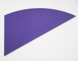 Ellsworth Kelly, Violet Curve, 1982, Meyerhoff Collection.