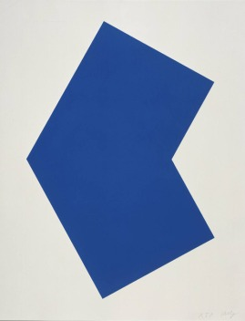 Ellsworth Kelly, Blue, 1970
