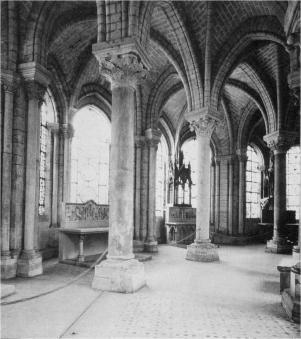 Double Ambulatory, north side, Saint-Denis