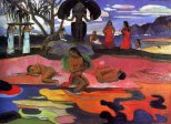 Paul Gauguin, Mahana no atua (Day of God), c.1894, Chicago, The Art Institute of Chicago.