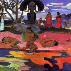 Paul Gauguin, Mahana no atua (Day of God), c.1894, Chicago, The Art Institute of Chicago.