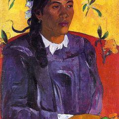 Paul Gauguin, Vahine no te tiare (Woman with a Flower), 1891, Copenhagen, Ny-Carlsberg Glyptothek