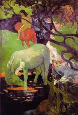 Paul Gauguin, Le Cheval Blanc, 1898, Paris, Musée d'Orsay.