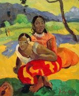 Paul Gauguin, Nafea Faa ipoipo? (When Will You Marry?), 1892, Basel, Kunstmuseum