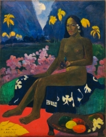 Paul Gauguin, Maà I Landscape in Tahiti, 1892, New York, Museum of Modern Art