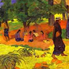Paul Gauguin, Taperaa Mahana, 1892, Collection Otto Krebs.