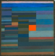 Paul Klee, Fire at Evening, 1930,