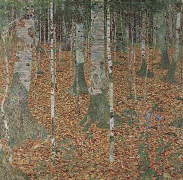 Birkenwald I, 1903, Private Collection.