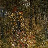 Bauerngarten mit Kruzifix (1911)