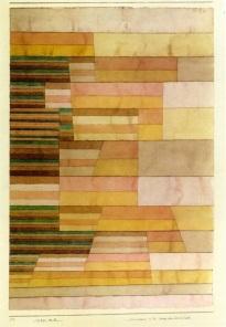 Paul Klee, Monument on the Border of Fertile Country, 1929, Lucerne, Sammlung Rosengart.