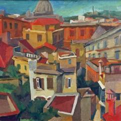 Renato Guttuso, Paesaggio Urbano, 1940.
