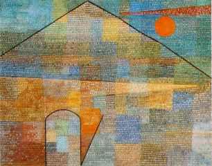 Paul Klee, Ad Parnassum, 1932, Bern, Kunstmuseum.