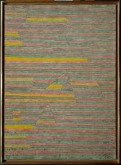 Paul-Klee, Monuments at Giza, 1929, New York, Metropolitan Museum of Art.